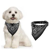 Kalung Kucing Anjing Bandana Dog Cat Puppy Collar Neck Triangle Scarf - Hitam, XL