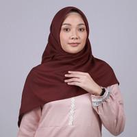 Zoya Kalandra Plain Scarf - Kerudung Hijab Segi Empat