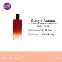 Giorgio Armani Parfum Original Si Passione Woman Miniatur Spray 15 ML