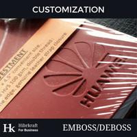 Customization Hk - Custom Emboss/Deboss untuk Gift/Suvenir/Merchandise