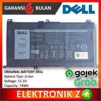 Baterai Batre Dell Inspiron 15 7000 7566 7567 7557 7559 71JF4 357F9