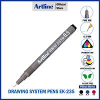 PULPEN ARTLINE DRAWING PEN 0.5MM EK-235