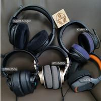 Bantalan Telinga Pengganti Untuk Headphone ATH M50x M50xBT, MDR 7506