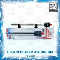 HEATER AQUARIUM 75 WATT HITER AQUARIUM WATER HEATER STAINLESS HIKARI