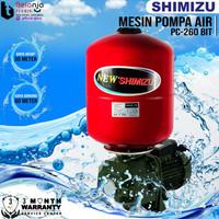 Shimizu Pompa Air Otomatis PC 260 BIT 30 Meter Jet Pump PC260 Bit