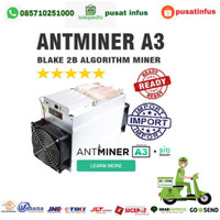 ANTMINER A3 SiaCoin Miner 1275W + Free PSU