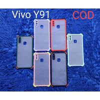 New Case Anticrack Softcase kamera proteksi Vivo Y91 - Y95