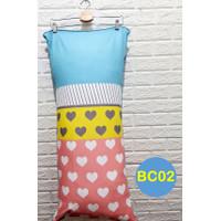 Sarung Bantal Cinta Premium Ukuran 45x95