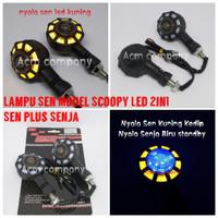 Lampu Sen Led 2in1 Honda Scoopy / Sein Variasi Scoopy Senja plus Sen