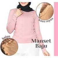 MANSET BAJU ADEM BAHAN RAYON/Inner Baju Premium/Manset Adem   H8HJ