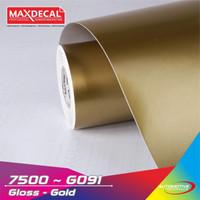 Maxdecal 7500-G091 Vinyl Gold Emas Glosy