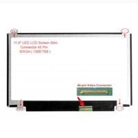 Layar LCD 11.6 Acer Aspire One 722 AOD 725 AOD 756 AO722 AO725 AO725