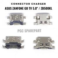 Connector Charger Asus Zanfone Go Tv 5.0 Inch - Zb500Kl Konektor Cas