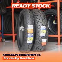 Paket Michelin Scorcher 31 130/80-17 & 180/65-16 Ban HD Gold Wing dll