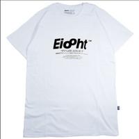 Pakaian Pria Atasan Kaos Putih EIGHT TM433