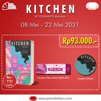 Buku Kitchen - Yoshimoto Banana (Free Bubblewrap)