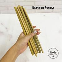 SAF sedotan reuseable bambu / props foto / bamboo straw