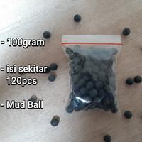 Mud Ball Peluru Ketapel 100gram