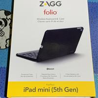 iPad Mini 5 5th gen 2019 ZAGG Folio Keyboard Backlit 7 Color