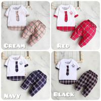 Setelan Baju Anak Bayi Laki-laki Usia 6-12 Bulan
