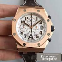Audemars Piguet Royal Oak Offshore Chronograph Watch 26170 Rose Gold