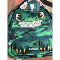Smiggle Backpack Teeny Tiny Dinosours Topsy Tas Ransel Anak Original