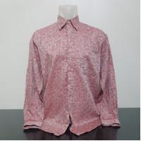 Baju Kemeja GIORGIO SAPANNI ITALY - Size XXL Lebar Dada 60 cm Ori Beka