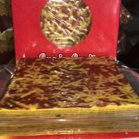 Kue Lapis Legit Sari Harum Keju/Coklat size 16.5 cm
