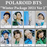 POLAROID BTS WINTER PACKAGE 2021 - VER 2