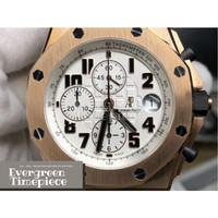 Audemars Piguet Royal Oak Offshore Chrono Watch 26170 Rose Gold Case