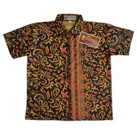 Kemeja Hem Batik Anak Prada/Prodo Songket Emas Baju Cowok Laki-laki