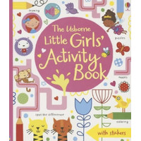 Usborne Little Girls Activity Book - Buku Edukasi Impor Anak Children