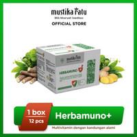 Herbamuno+ Immune Modulator Mustika Ratu 12 Strip (1 Box)