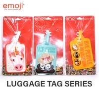 EMOJI Penanda Tas Koper Original Luggage Tag Series