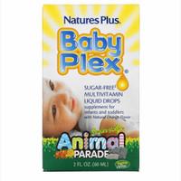 Natures Plus Baby Plex Multivitamin Liquid Drops Animal Parade 60ml - Standard