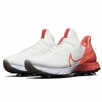 sepatu golf Nike infinity tour white pink /peach - original