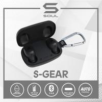 SOUL S-GEAR True Wireless Earphones Waterproof Bluetooth v. 5.0 - Hitam