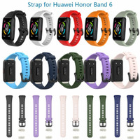 huawei band 6, honor band 6 silicon strap