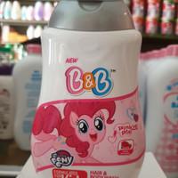 B&B BABY WASH 2IN1 - PINK PINKIE PIE, 200ML