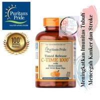 ORIGINAL Puritan Vitamin C-1000mg with Rose Hips Time Release 250 Caps