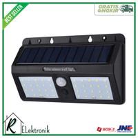 DUOGU Lampu Dinding Solar Sensor Gerak Outdoor Weatherproof - 40 LED