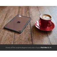 Case iPad Mini 5 4 Casing Crystal Hard Clear Slim Bumper Cover - Navy