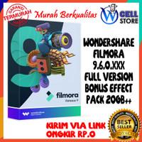 DVD APLIKASI EDIT VIDEO PC / LAPTOP FILMORA 9.6.0.XXX TERBARU 2021
