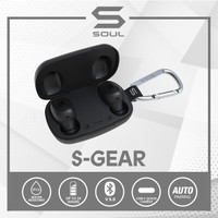 SOUL S-GEAR True Wireless Earphones Waterproof Bluetooth v. 5.0