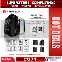 Fantech PULSE CG71 Tempered Glass RGB Gaming Case ATX