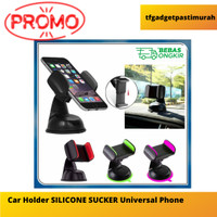 Car Holder SILICONE SUCKER Universal Phone Murah