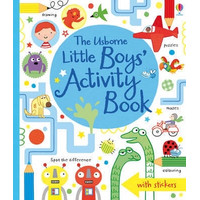 Usborne Little Boys Activity Book - Buku Edukasi Impor Anak Children