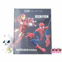 Buku Cerita Anak Story Book Marvel Collection Iron Man Spider-man
