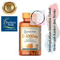 ORIGINAL Puritan Vitamin C 1000mg with Bioflavonoids & Rose Hips @100
