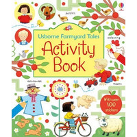 Usborne Farmyard Tales Activity Book Buku Edukasi Impor Education Anak